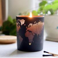 Cheap Fashion Creative Design Soy Scented Jar Candle With Metal Lid Home Decoration for sale