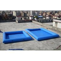 Cheap 8M*6M Inflatable Swimming Pool With Fireproof PVC Tarpaulin For Family for sale