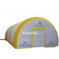 Tent paintball tent blue event inflatable air tent airproof for party