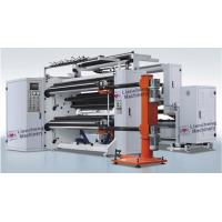 Cheap Adhesive Paper / Film Roll Label Rewinder Machine Perfect Integration Design for sale