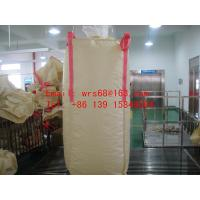 Cheap PVC resin Beige 2 Ton bulk bags with top and bottom spout PVC resin for sale