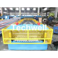 Cheap Steel Silo Wall Sheet Corrugated Roll Forming Machine for Silo Side Panel for sale