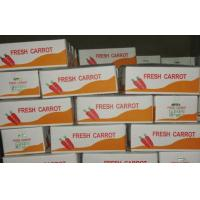 Cheap Big Fresh Sweet Red Organic Carrot Contains Ruddy Carrot Pulp , Long Shelf Life for sale