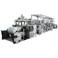 Cheap Automatic PP / LDPE Extrusion Film Coating Machine Fast Working Speed for sale
