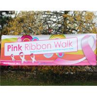 Customized Colorful Flex PVC Vinyl Banners For Advertising , Digital Printing
