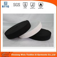 Buy cheap YSETEX 100% Nylon anti fire black Hook and Loop for FR coverall from wholesalers