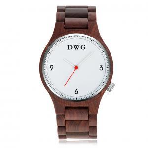 Cheap Big Dial Mens Analog Quartz Watch Creative Business Waterproof Design for sale
