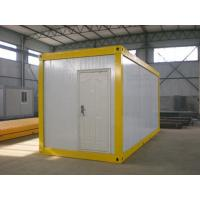 Cheap Low cost modern sandwich panel prefab container house in India for sale