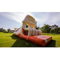 Cheap 0.55mm PVC Inflatable Egypt Bouncing Castles Combo  ,  Inflatable Jumping Castle for sale