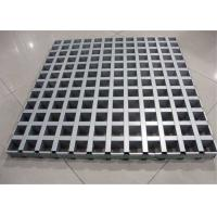 Cheap Modern Design Durable Open Cell Aluminum Grid Panels For Supermarket / Marketplace for sale
