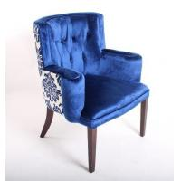 blue velvet tufted chair home furniture wooden arm chairs living room of hotelbedroomfurniture. Black Bedroom Furniture Sets. Home Design Ideas