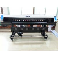 Cheap 1.6m eco solvent printer with single DX7 head for various indoor and outdoor material for sale