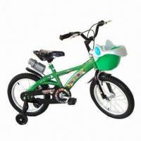 China Chidren's Bicycle with Steel Fork, Frame, Chain Cover, Aluminum Rim, Good Saddle and Pedal on sale