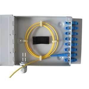 Cheap 1.2mm Plastic welding Fiber Optic installation Termination splicing Box patch panel for sale