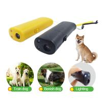 Cheap Dog Repeller Ultrasonic Pet Trainer Anti Bark Stop Barking Handheld Control Traine for sale