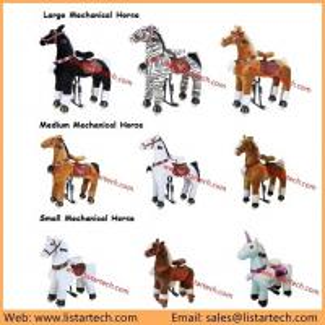 China New Kids Rocking Horse Toy, Popular Children Rocking Pony Horse, Baby Rocking Ride On Pony on sale