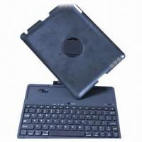 Cheap Newest 360° Rotate Bluetooth Keyboard for iPad 2/3/4, with Back Cover for sale