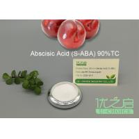 Cheap Plant Growth Regulator , Plant Growth Inhibitors S - ABA CAS No 21293-29-8 for sale