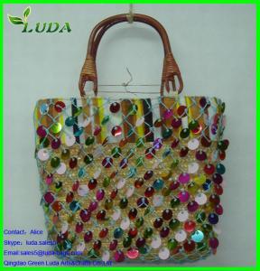 Cheap Color Sequin Tote/shoulder bag for sale