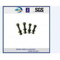 Cheap Stainless Steel / Carbon Steel Railway Bolt Hardware And Fasteners ASTM F1852 for sale
