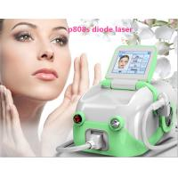 Quality 10,000,000 shots life mini 808nm diode laser hair removal machine with 10 Germany bars wholesale