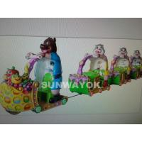 Cheap Durable Indoor Amusement Equipment / Electronice Merry Go Around Machine for sale
