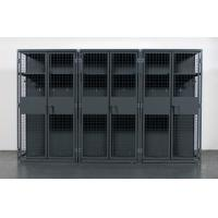 Cheap Military , Gym Heavy Duty Storage Locker , Steel Ventilated Wire Mesh Partitions for sale