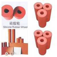 Quality silicone rubber wheels high quality customized silicone rubber wheel wholesale