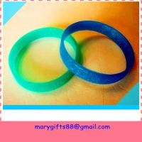 Cheap best selling blank rubber silicone bracelet bangles wholesale