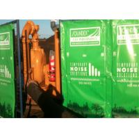 Buy cheap Portable Noise Barriers 30dB noise control 4.4kg per SQM covered PVC tarpaulin avaialbe any color from wholesalers