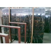 Cheap Pre Cut Black Marble Vanity Countertops , Potoro Wall Mounted Marble Bar Counter for sale