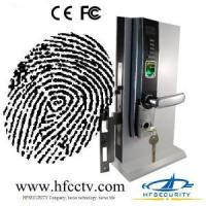 Cheap Biometric Fingerprint Door Lock with OLED Display and USB port, electronic biometric door lock (HF-LA501) for sale