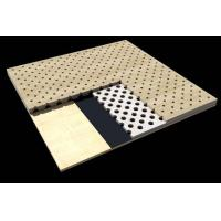 Buy cheap Sound Absorption Board Wood Door Design Office Building Perforated Acoustic Panel from wholesalers