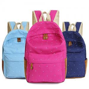 China Front Pocket Kids Custom Logo Backpacks Middle School With Side Bottle Holder on sale