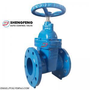 Quality German standard cast iron double flange dn100 gate valves wholesale