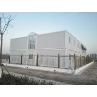 Cheap Sandwich Panel Shipping Container Architecture For Social Housing Projects / Office for sale