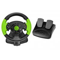 Buy cheap PC / X-INPUT / PS3 / XBOX 360 All in One VIdeo Game Steering Wheel with Foot Pedal from wholesalers