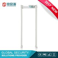 Cheap High Sensitivity Multi Zone Door Frame Metal Detector Walk Through With PC Network Function wholesale