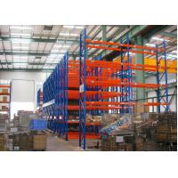 Cheap Blue Red Mobile Storage Racks Q235B Custom Pallet Electric Mobile Shelving wholesale