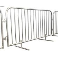 Cheap Steel Metal Fence Accessories Isolation Temporary Barrier For Ticket Line for sale