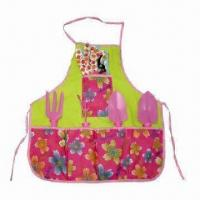 Cheap Fashionable Garden Tools Set with Apron for sale