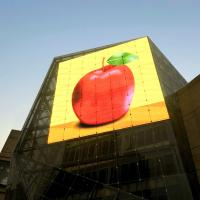 Cheap 6500 Nits Fixed Outdoor Digital Display Screens Background On Building for sale