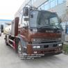 Cheap isuzu 4x2 12000l 14000l 15000 litres oil petrol diesel truck  dispenser fuel tank truck flow meter for sale