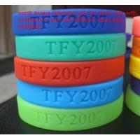 Cheap Customized designs and logo 100% Silicone chain bracelet for women for sale