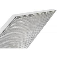 Cheap Perforated Metal Aluminum Curtain Wall Panel Prismatic Shape Exterior PVDF Powder Spraying for sale
