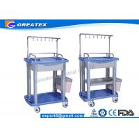 Buy cheap Iv Infusion Treatment Trolley Medical Working Station mobile dental drug trolleys from wholesalers