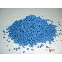 Buy cheap 2-4mm Blue Rubber Granules Manufacturer EPDM Granule from wholesalers