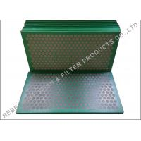 China Higher Conductance Shake Screen , Mud Cleaner SS 304 Shale Shaker Mesh Screen on sale
