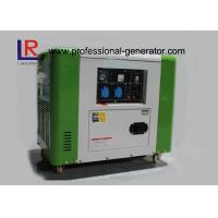 Cheap 50Hz / 60Hz Air Cooling 4 Stroke 5.5kw Diesel Driven Generator Good Performance for sale