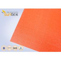 Cheap Suntex High  Silicone Rubber Coated Fiberglass Fabric 2 Sides Coating Heat Resistant Material for sale